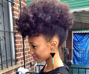 Afro, boho, and hair image