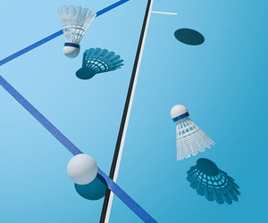 blue and tennis image