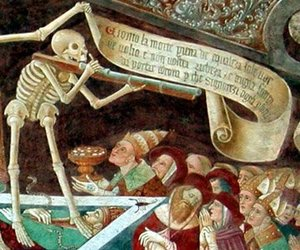 death and danse macabre image