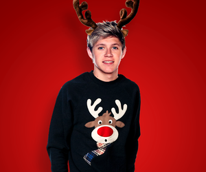 niall horan, one direction, and christmas image