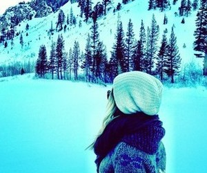 snow, ashley tisdale, and winter image