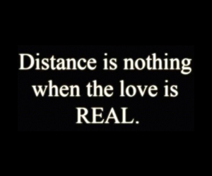 distance, nothing, and real image
