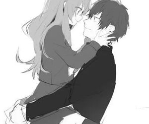 anime, toradora, and couple image