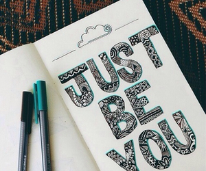you, quotes, and just be you image