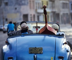 car, music, and blue image