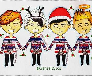 drawing and 5 seconds of summer image