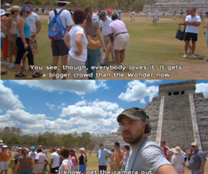 funny, an idiot abroad, and mexico image