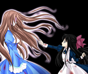 aya, mad father, and game image
