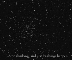 quote, stars, and happen image
