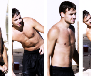 shirtless, liam payne, and 1d image