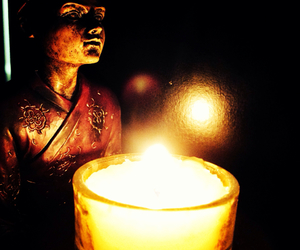Buddha, nice, and candle image