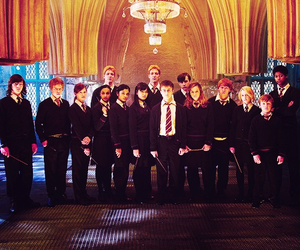 harry potter, dumbledore's army, and emma watson image
