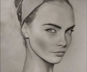drawing, model, and beautiful image