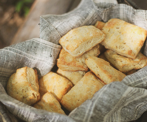 bread, scones, and food image