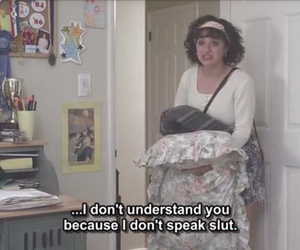 slut, funny, and grunge image