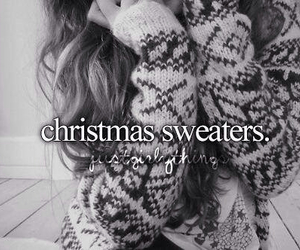 december, cute, and christmas sweaters image