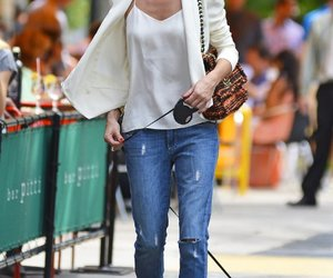 fashion, olivia palermo, and jeans image