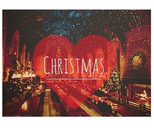 christmas, hogwarts, and harry potter image