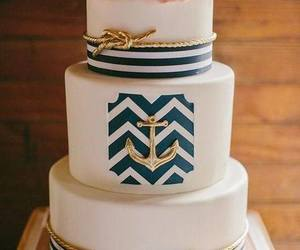 anchor, birthday, and cake image