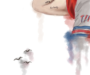 fan art, Tattoos, and louis tomlinson image