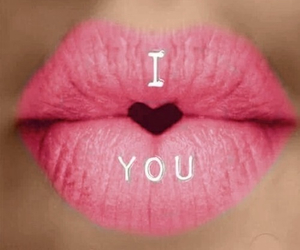 lips, love, and pink image