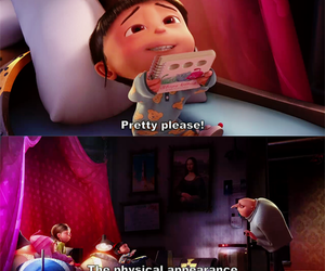despicable me, funny, and please image