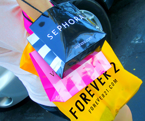 sephora, shopping, and forever 21 image