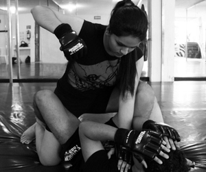 fighter, fitness, and mma image