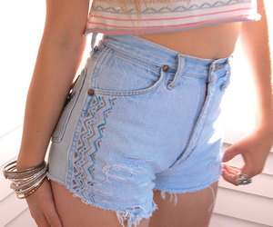 cool, girl, and shorts image