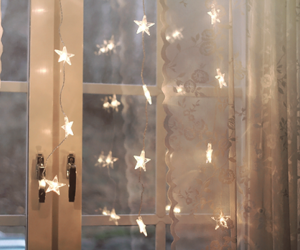 stars, light, and window image
