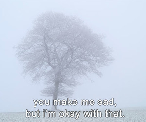 sad, quote, and pale image