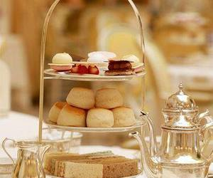 tea, cake, and food image
