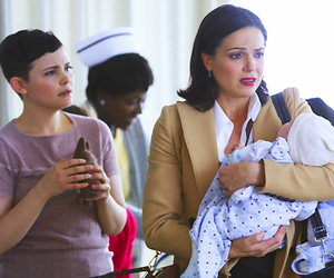 once upon a time, evil queen, and mary margaret blanchard image