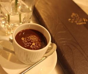 drink, godiva, and hot chocolate image
