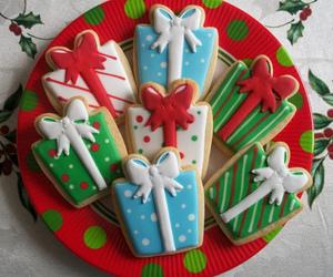 christmas, Cookies, and gift image