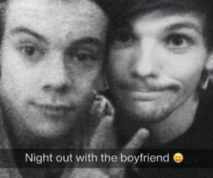bromance, larry, and Harry Styles image