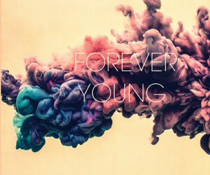 forever, young, and air image