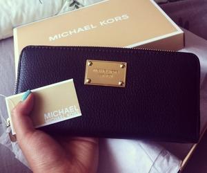 fashion, Michael Kors, and wallet image