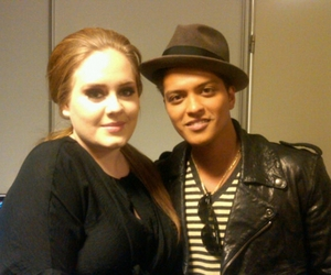 Adele and bruno mars image
