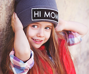 little girl, style, and swag image