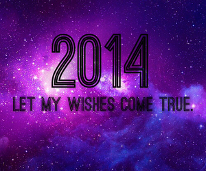 2014, wish, and new year image