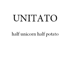 potato and unicorn image