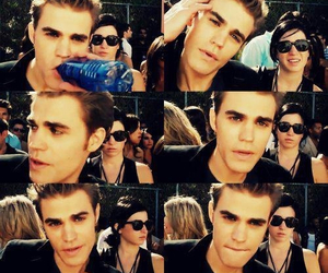 tvd and paul wesley image