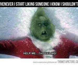 crush, funny, and grinch image