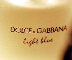 Dolce & Gabbana and light blue image