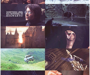 chamber of secrets and harry potter image