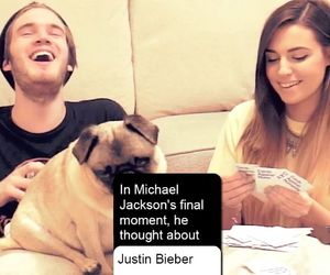 game, michaeljackson, and pewdiepie image
