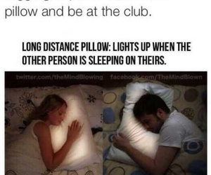 funny, lol, and long distance pillow image
