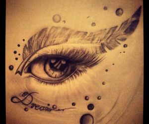 beautiful, bubble, and drawing image