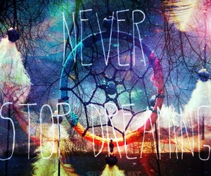 colourful, Dream, and never image